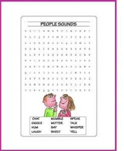 Seek-a-Word Puzzles 1